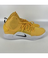 Nike Hyperdunk X TB yellow Men's size 16 Basketball Shoes AT3866 701 - $97.89
