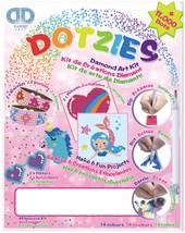 Diamond Dotz DOTZIES Variety Kit 6 Projects-Pink - $30.58