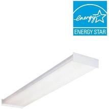4 ft. Wraparound Fluorescent Ceiling Fixture Lighting for Garage Living ... - $752,62 MXN