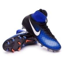 NIKE Shoes JR MAGISTA OBRA II FG Cleats Black 844410 015 Soccer Cleats S... - $54.99