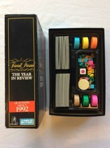 Trivial Pursuit The Year In Review 1992 Board Game - $7.00