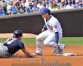 Original Javier Javi Baez Tag Chicago Cubs Pic Various Size PhotoArt NLCS Co-MVP - $4.44+