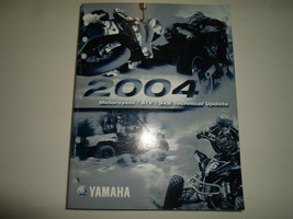 2004 Yamaha Motorcycle Atv Sx S Technical Update Manual Factory Oem 03 Book - $23.75