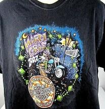 Harley Davidson T-Shirt X-Large New Orleans Mardi Gras H-D Motorcycle - $13.81