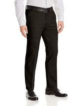 Boltini Italy Men's Flat Front Slim Fit Slacks Trousers Dress Pants w/ Defect 36