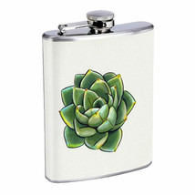 Cactus & Succulents D1 Flask 8oz Stainless Steel Hip Drinking Whiskey - $12.82
