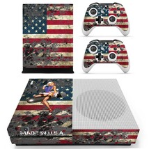 American Girl decal xbox one S console and 2 controllers - $15.00