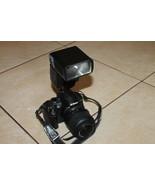 Nikon D3000 10.2MP Digital SLR Camera with lens and sigma ef-500 flash o... - $225.00