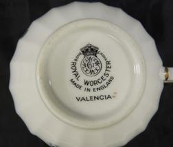 Royal Worcester Tea * Coffee Cup * Valencia Pattern image 4