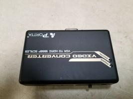 Portta HDMI video converter VGA to HDMI 1080p scaler NO CORDS  - $19.00