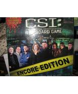 CSI: Crime Scene Investigation Game ENCORE Edition - $10.00