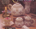 Collector's Tea Set Plastic Canvas Pattern Booklet TNS 923339 Teapot Creamer Cup