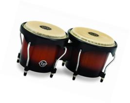 Latin Percussion LP601NY-VSB LP City Wood Bongos - Vintage Sunburst - $99.25