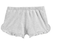 First Impressions Play Baby Girls' Ruffled Shorts, Slate Heather,Size 18Months - $9.89