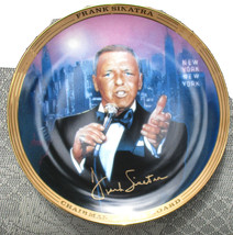 FRANK SINATRA NEW YORK NEW YORK MUSICAL PLATE LIMITED EDITION - $18.00