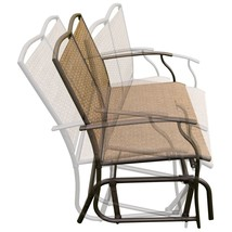 Patio Glider Rocking  2 Person Outdoor Bench - £86.21 GBP