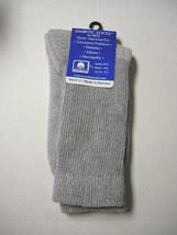 Diabetic Socks, Crew, Ladies, Size 9-11, Gray by Eros, Brand New - $5.99