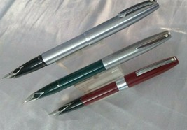 Sheaffer Imperial Fountain Pen 3 Pc Chrome Trim - $110.26