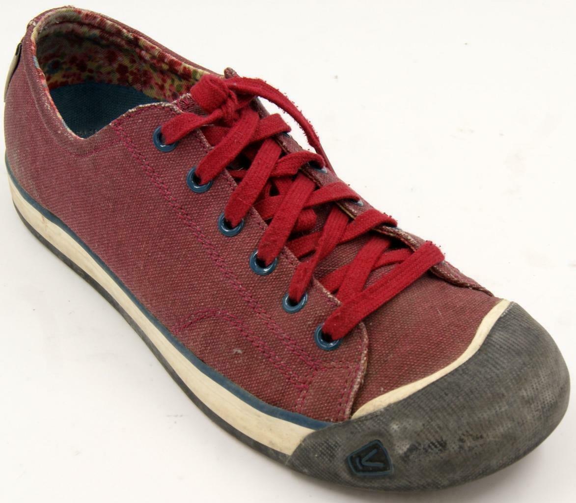 Keen Coronado Red Dahlia Women's Lace Up Shoes Sz 9.5 M