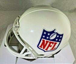 ARCHIE, PEYTON & ELI MANNING / TRIPLE AUTOGRAPHED NFL LOGO MINI HELMET / STEINER image 6