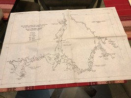 Vintage Survey Map - Lake Mead            (Reference # 01-02 ) - $10.00