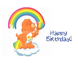 Care Bears Edible Image Cake Topper - $10.50