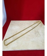 """30"""" Gold Chain Necklace - 2.1 oz - (not sure of metal) - $9.99"""