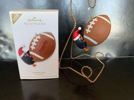 Hallmark Keepsake Ornament Football Star Personalize 2012 - $7.50
