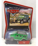 NEW Disney Pixar CARS Movie 1 55 Die Cast Car TJ the Green Hummer  - $19.96