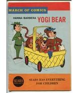 "March Of Comics #279 1965-Yogi bear-Boo Boo-5 X 7 1/4"" -GOOD/VG - $18.92"
