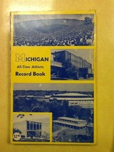 Michigan All Time Athletic Record Book - $9.89