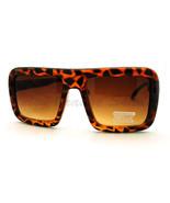 Übergröße Quadratische Sonnenbrille Flach Top Dick Nerdy Hipster Rahmen - $7.92
