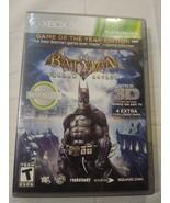 Batman: Arkham Asylum - Xbox 360 Game with manual case and disc - $3.60