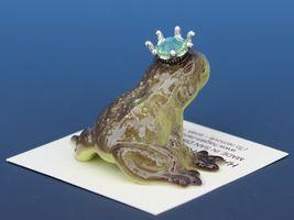 Birthstone Frog Prince Kissing August Peridot Miniatures by Hagen-Renaker image 3