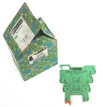 BOX OF 10 NEW PHOENIX CONTACT PLC-BSC-120UC/1SEN TERMINAL BLOCKS 120V 2966074