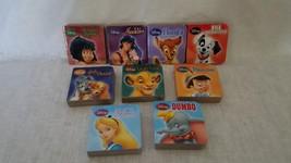 Walt Disney Mini Board Book Set, Disney Publishing 2001 - $10.75