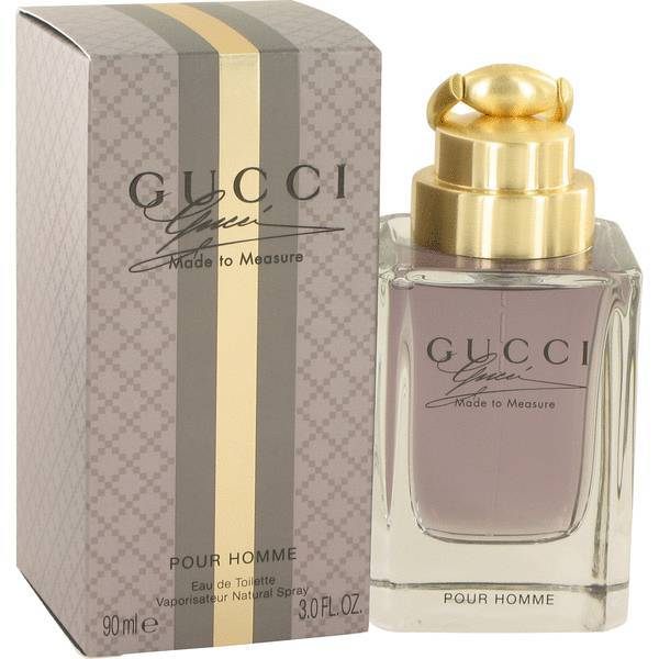 Gucci Made To Measure 3.0 Oz Eau De Toilette Cologne Spray