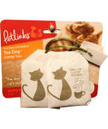 Worldwise Tea Zing 100% Catnip Toy 3 Piece 786306493844 - $18.65