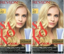 (Pack of 2) Revlon Salon Color #10 Lightest Natural Blonde Booster Kit - $19.79