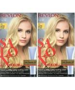 (Pack of 2) Revlon Salon Color #10 Lightest Natural Blonde Booster Kit - $17.81