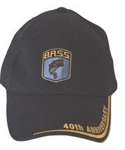 BASS 40th Anniversary Fishing Cap Hat Baseball Ball Truckers 21035 Navy ... - $16.02