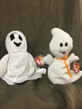 Ty Beanie Baby Ghosts Sheets And Spooky With Tags Halloween - $4.04