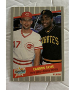 Fleer Superstar Special Chris Sabo/Bobby Bonilla Cannon Arms #637 Baseba... - $14.95