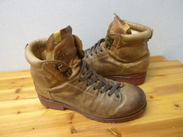 visvim vintage processed leather mountain boots US9 brigadier 7hole beard boots image 2