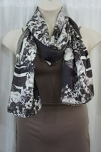 Echo Design Sz OS One Size Multi Color Floral Print Polyester Casual Scarf - €11,17 EUR