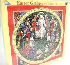Easter Gathering Puzzle by Peter Church He Shall Gather Together Children of God - $28.21