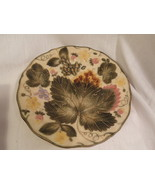 Vintage Wedgwood Majolica Plate Strawberry Leaf Design AS IS Victorian - $22.49