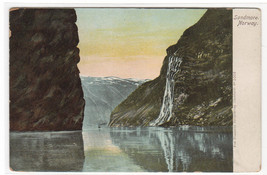 Sondmore Norway 1907c postcard - $6.44