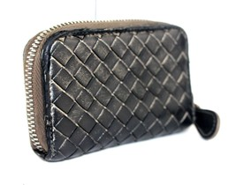 Auth Bottega Veneta Intrecciato leather Coin Case coin folder Coin box  ... - $141.61