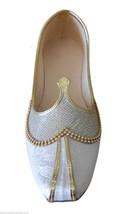 Men Shoes Wedding Jutti Loafers Indian Handmade Mojari Flat US 7 - $34.99
